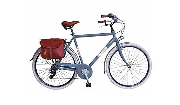 Via Veneto Bicicleta Clasica de Paseo - Retro ALU Uomo, Grigio ...