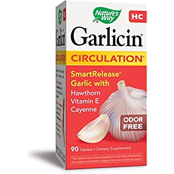 Nature's Way Garlicin HC 90 Enteric-coated Tablets