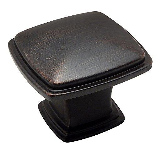 Cosmas 4391ORB Oil Rubbed Bronze Modern Cabinet Hardware Knob - 1-1/4