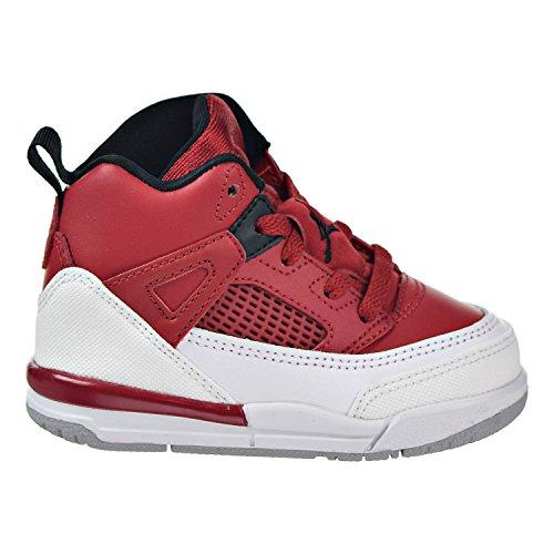 NIKE Jordan Spizike BT Toddler Basketball Shoes Gym Red/Black/White/Wolf Grey 317701-603