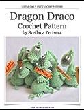 Dragon Crochet Pattern. Amigurumi toy