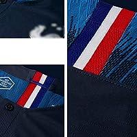 LSY Camisetas de f/útbol Camiseta Deportiva y pantal/ón de f/útbol de 2 Estrellas de Francia Copa Mundial de F/útbol de Francia 2018 Copa Mundial de F/útbol de Francia