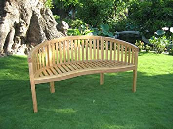 Solid Oak Garden Bench Sale Amazon Co Uk Garden Outdoors