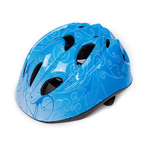 SUNVP Toddler Bike Helmet Skateboarding Skating Cycling Safety Protect Gear Adjustable Bicycle Helmet for Kids Children (Blue) Review