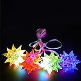 WeGlow International Crystal Star Necklace (12 pieces)