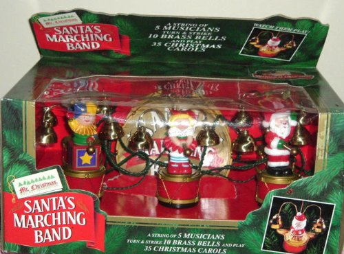 mr christmas santas marching band 35 carols songs for sale delivered anywhere in usa