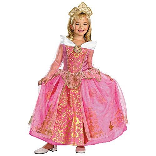 Storybook Aurora Prestige Child Costume - Medium