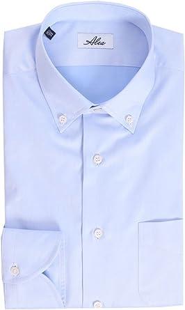 Alea Camisa Celeste Azul Celeste 38: Amazon.es: Ropa