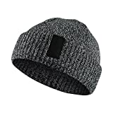 Nike Unisex Jordan Watch Embroidered Knit Beanie Skull Cap River Rock Grey
