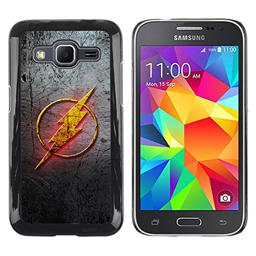 Smartphone Protective Case Hard Shell Cover for Cellphone Samsung Galaxy Core Prime / CECELL Phone case / / Flash Sign Super Hero /