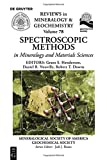 img - for Spectroscopic Methods in Mineralogy and Material Sciences (Reviews in Mineralogy and Geochemistry) book / textbook / text book