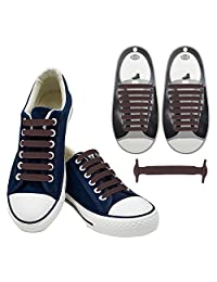Tieless Shoelaces,Aniwon Running No Tie Elastic Shoelaces for Kids Adults