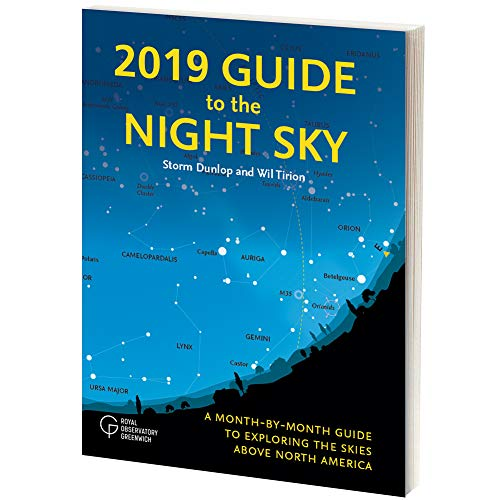 2019 Guide To The Night Sky Book Perfect Book For Amateur Astronomers (Event Guide Resource)