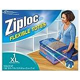 Ziploc Flexible Totes X-Large, 1 ct (Pack - 4)