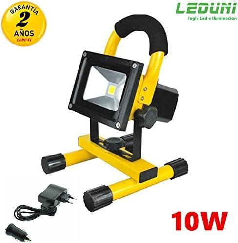 LEDUNI ® Foco LED Proyector Lámpara Camping Impermeable 10W LED ...