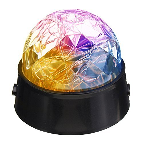 Starry Night Light Projector, Rotating Cosmos Star Projector Lamp Powered by USB/ 3xAA Batteries for Baby Kids Nursery Bedroom Living Room & Party (Soko Wall Cover)