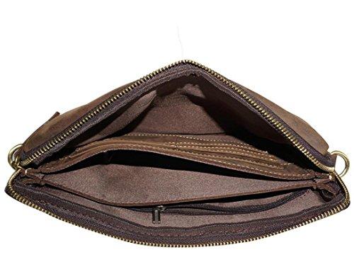 in manuale d'epoca shopping viaggi degli uomini Sacchetto pelle SHOUTIBAO generosità semplice qEgCFF