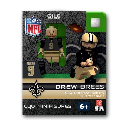 NFL New Orleans Saints Drew Brees Figurine