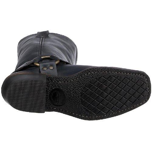 FRYE - Botas de cuero para mujer Negro