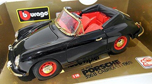 Burago 1/18 Scale diecast - 3031D Porsche 356 B Cabriolet 1961 Autodrom edition B01CIG8PIC