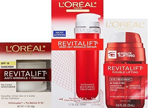 L'Oreal Revitalift Anti-wrinkle + Firming Day Cream; Doub...
