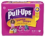 Health & Personal Care : Huggies Pull-Ups Learning Design Training Pants, Size 4T-5T, Girl, 42 Count (Pack of 4)