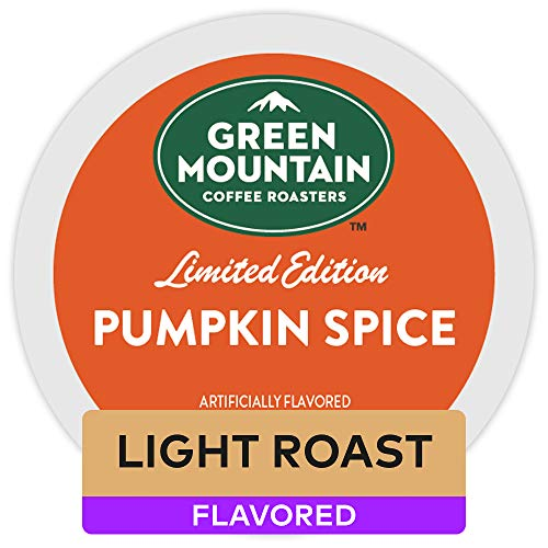 - Green Mountain Coffee Pumpkin Spice, Keurig K-Cups, 72 Count
