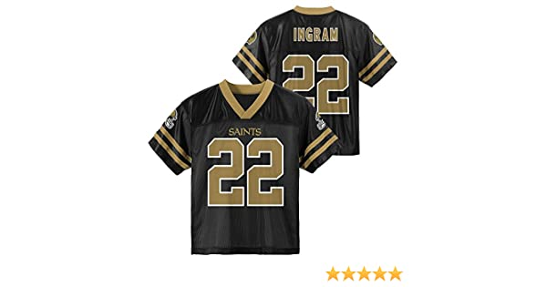 9d7a07f5 Outerstuff Mark Ingram New Orleans Saints Black Youth Player Home Jersey