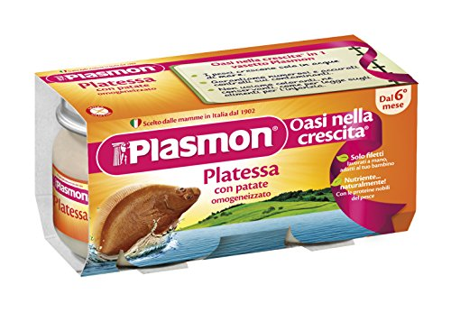 Plasmon Homogenized Plaice with Potatoes ()