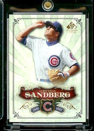 2006 Upper Deck SP Legendary Cuts # 53 Ryne Sandberg - Chicago Cubs - Baseball Trading (Ryne Sandberg Card)