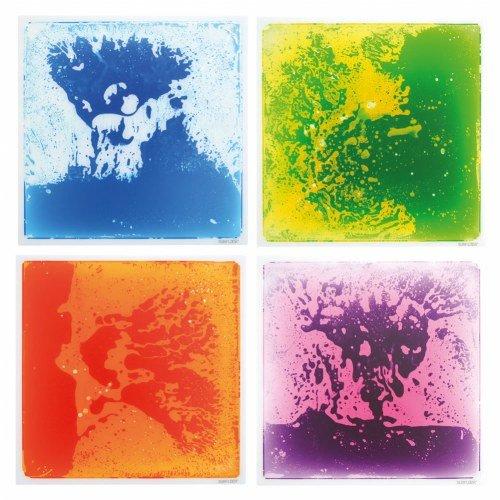 Liquid Tile Spooner Mats (Set of 4) by Spooner, Inc