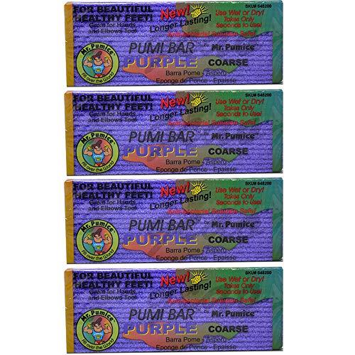 Mr. Pumice Pumi Bar Purple - 4 Pumice -