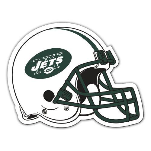 Fremont Die NFL New York Jets 12-Inch Vinyl Helmet Magnet