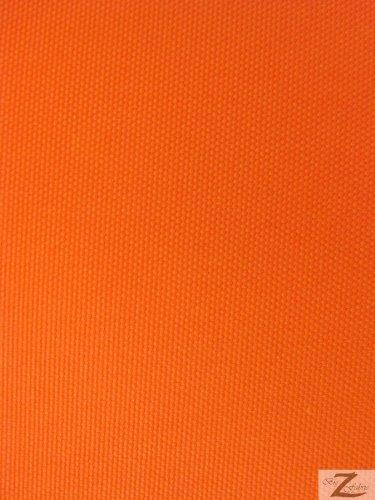 SOLID OUTDOOR FABRIC (WATERPROOF/ANTI UV)   Orange   DUCK VINYL 60u0026quot