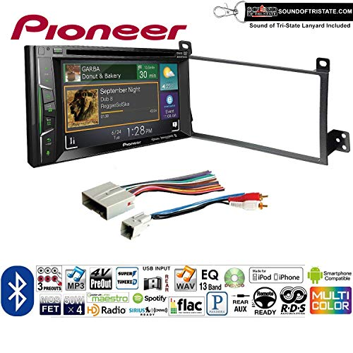 2011 Lanyard - Sound of Tri-State Pioneer AVH-501EX Double Din Radio Install Kit with DVD/CD Player Bluetooth Fits 2003-2011 Town Car Lanyard