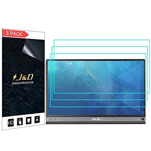J&D [3-Pack] ASUS ZenScreen Screen Protector, Premium HD Clear Film Shield Screen Protector for ASUS ZenScreen