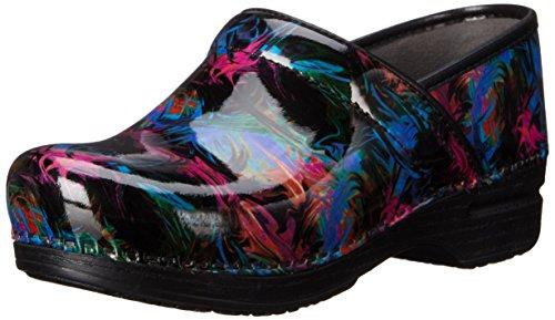 Dansko Women's Pro XP Mule, Color Pop Patent, 36 EU/5.5-6 M US (Colorful Dansko Shoes)