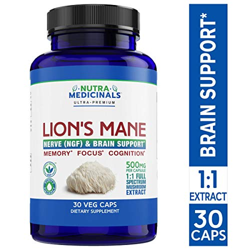 NutraMedicinals Lion's Mane, Just might be the fountain of youth