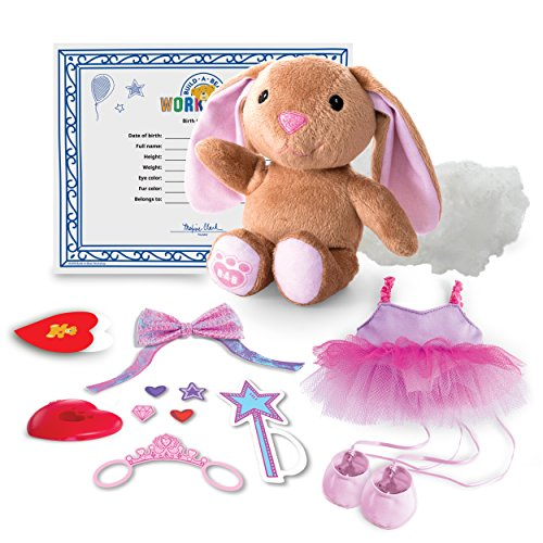 Build A Bear Workshop - Furry Fashions - Ballerina Bunny