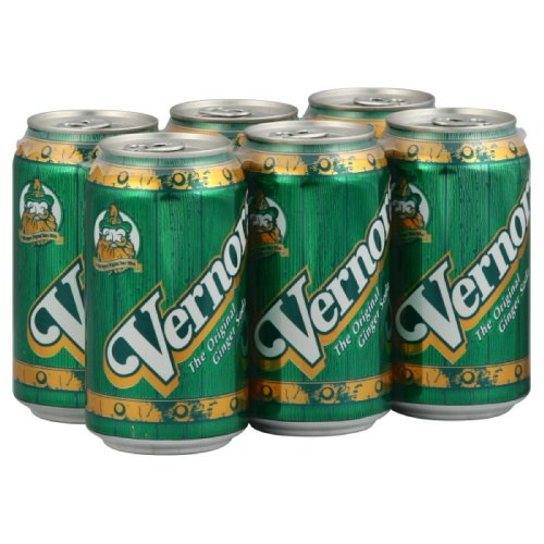 Vernor's Ginger Ale, 6-Count (Pack of 4)
