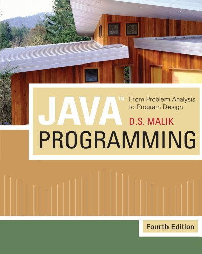 [PDF] Java Programming: From Problem Analysis to Program Design Free Download | Publisher : Course Technology | Category : Computers & Internet | ISBN 10 : 1439035660 | ISBN 13 : 9781439035665