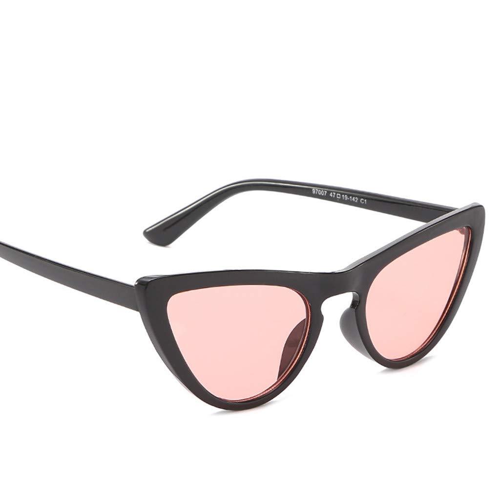 LEEDY_Gafas Gafas De Sol con Montura PequeñA Y TriáNgulo ...