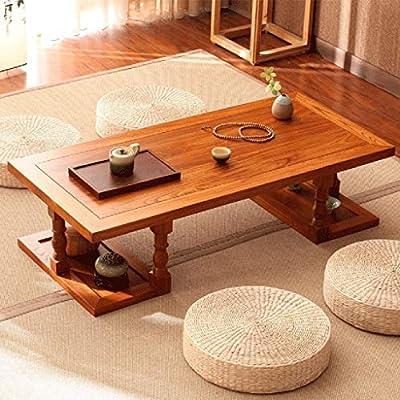 Mesas de café Zen Balcón Tatami Mesa De Té Corto Mesa Ventanal ...