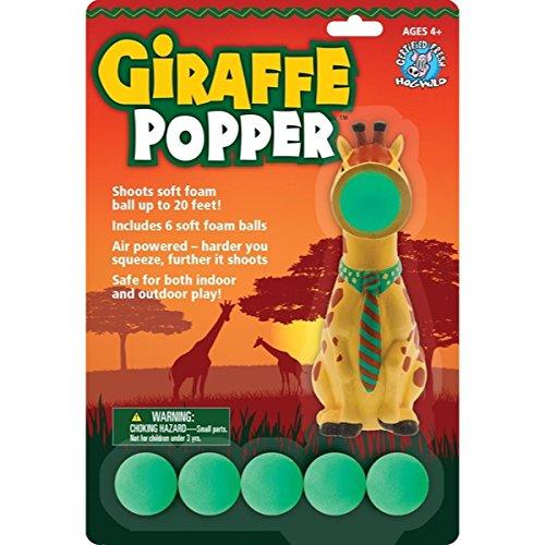 Incre. Novel. Squeeze Popper Safari Assortment