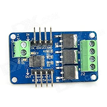 51Z7zsNkKzL._SX342_ amazon com next led strip driver module for arduino deep blue 120V LED Wiring Diagram at gsmx.co