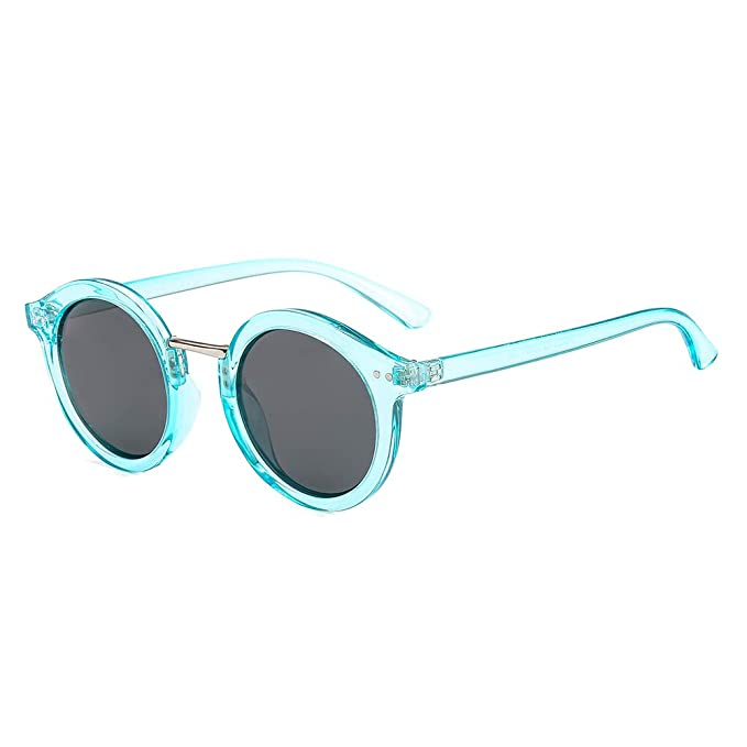 Amazon.com: SUERTREE JH9023 - Gafas de sol redondas ...