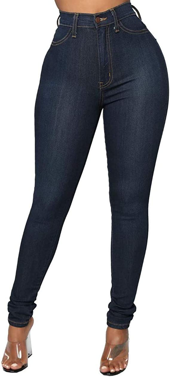 Mibuy Mujer Pantalones Vaquero, Skinny Push Up 2020 Elegante ...