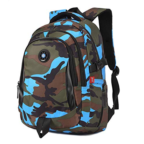 LiLi Meng Children Fashion Camouflage Casual Backpack Outdoor Luggage Bag School Sport