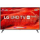 Smart Tv 4k Led 65 Lg Um7520psb, 4 Hdmi, 2 Usb, Webos, Wi-fi Integrado