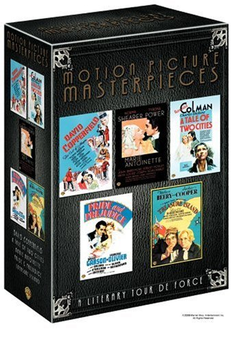 - Motion Picture Masterpieces Collection (David Copperfield 1935 / Marie Antoinette 1938 / Pride and Prejudice 1940 / A Tale of Two Cities 1935 / Treasure Island 1934)